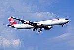 311bd - Swiss Airbus A340-313X, HB-JMA@ZRH,08.08.2004 - Flickr - Aero Icarus.jpg