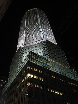 383 Madison Avenue - 383 Madison Avenue at night