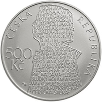 Commemorative coins of the Czech Republic - Image: 500 Kc 2013