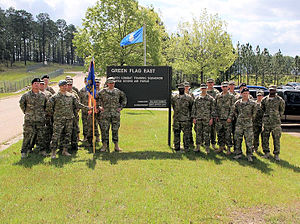 548th Combat Training Squadron - Photo of the 548th Combat Training Squadron members at Fort Polk, Louisiana