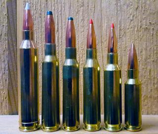 6.5mm Creedmoor Centerfire rifle cartridge