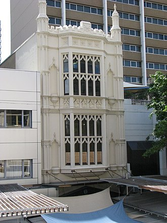 Colonial Mutual Chambers - Former Colonial Mutual Chambers (upper facade), 2008
