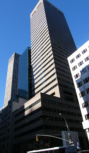Corruption in Iran - Piaget Building, located in Manhattan, New York was designed for Pahlavi Foundation