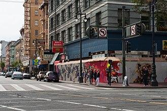 Gentrification of San Francisco - 6th and Market, San Francisco