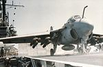 A-6E Intruder of VA-176 is launched from USS Forrestal (CV-59) in 1986.jpg