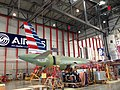 AA A319 in final assembly (9352477792).jpg