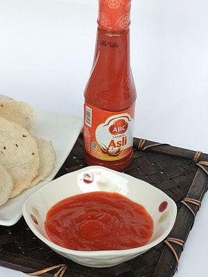 Heinz - Sambal Asli ABC, a Heinz ABC product.