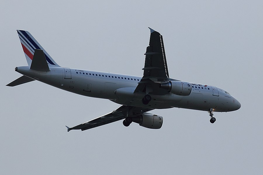 A320 d'Air France immatriculé F-HBNI