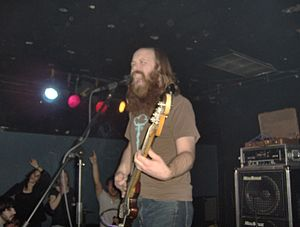 A. J. Mogis - A.J. Mogis performing with Criteria at Omaha's Sokol Underground in 2006