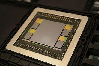 High Bandwidth Memory - AMD Fiji, the first GPU to use HBM.