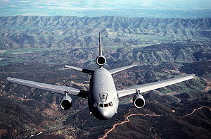 79th Air Refueling Squadron - A 79th Air Refueling Squadron KC-10A Extender near Travis Air Force Base