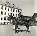 A Főgimnázium (ma Mezőgazdasági Líceum) udvara. - Románia, Szilágy megye, Szilágysomlyó 1940. Fortepan 76968.jpg