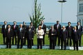 A Group photo of Leaders of the G-8 and Outreach Countries at G 8 Summit in Heiligendamm, Germany on June 08, 2007.jpg