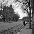 A Tisza Lajos (Lenin) körút és a Kiss Ernő utca sarka a Postapalota elől fotózva. Fortepan 309.jpg