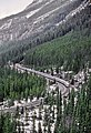 A Westbound Canadian, Kicking Horse Pass, 1982 (32105067841).jpg