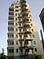 A building with nice scape stairs - panoramio.jpg