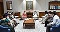 A delegation of Partnership for Maternal, Newborn and Child Health (PMNCH) including the Union Minister for Health & Family Welfare, Shri J.P. Nadda calling on the Prime Minister, Shri Narendra Modi, in New Delhi.jpg