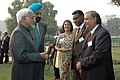 A delegation of prominent NRIs and PROs meeting with the Vice President, Mohammad Hamid Ansari, in New Delhi on January 07, 2008 (1).jpg