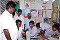 A free health camp organised at Bharat Nirman Public Information Campaign, at Jamunamarathur, Jawadhu Hills, Tiruvannamalai district, Tamil Nadu on December 14, 2012.jpg