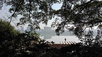 Yudu County - Image: A photo of yudu city near the gong river