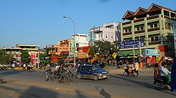 Street in Siem Reap