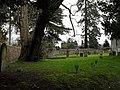 A verdant churchyard at St James, Stedham - geograph.org.uk - 1738833.jpg
