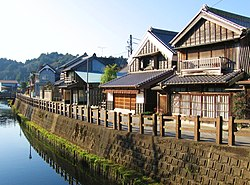 Sawara canal and historical district