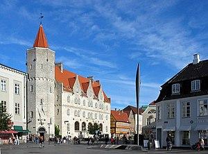 Nytorv, der Neumarkt in Aalborg