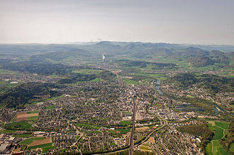 Aarau - Aarau and the Jura Mountains