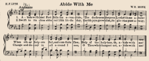 "Abide with Me - The hymn set to ""Eventide"""