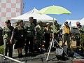 Academia Da Força Aérea (AFA) em Pirassununga-SP. O locutor Vadico no Domingo Aéreo 2015 apresentando pessoas vestidas com trajes da época da Segunda Guerra Munidial. - panoramio.jpg