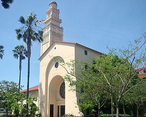 Academy of Motion Picture Arts and Sciences - Fairbanks Center for Motion Picture Study building on La Cienega Boulevard in Beverly Hills, California