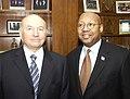 Acting Secretary Alphonso Jackson with Mayor of Moscow, Yuri Mikhailovich Luzhkov.jpg