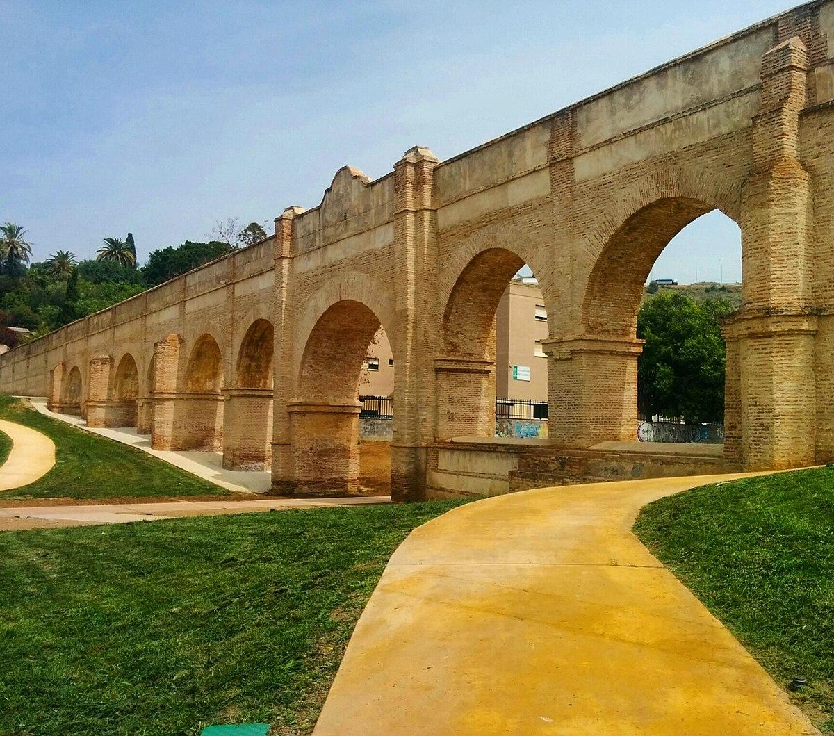 Acueducto de san telmo wikipedia la enciclopedia libre for Distrito ciudad jardin malaga