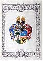 Adelsdiplom - Hofer von Lichfels 1916 - Wappen.jpg