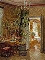 Adolf von Becker - Interior from the Hallonblads' Home, Hympölä Manor - A II 1209 - Finnish National Gallery.jpg
