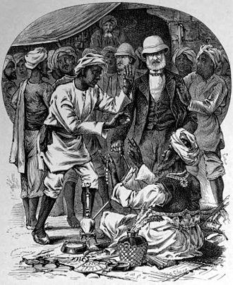 Adolph E. Borie - Image: Adolph E. Borie purchasing in India