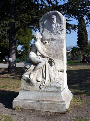 Adolphe Monticelli - Monument à Monticelli in the Palais Longchamp Marseille