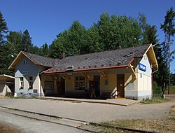 Adršpach (Adersbach) - train station.JPG