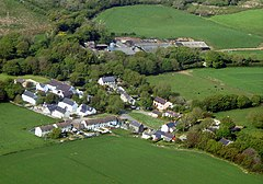 Aerial Photograph of Castle Morris - geograph.org.uk - 946657.jpg