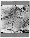Aerial view showing US 93 in Nevada - Hoover Dam, Spanning Colorado River at Route 93, Boulder City, Clark County, NV HAER NV-27-37.tif