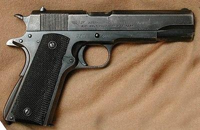 Sistema colt modelo 1927 wikipedia la enciclopedia libre for Pistola para lacar muebles precio