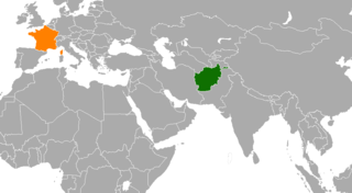 Diplomatic relations between The Islamic Republic of Afghanistan and the French Republic