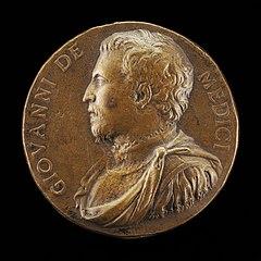 Giovanni de' Medici delle Bande Nere, 1498-1526, Condottiere [obverse]