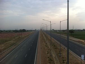 Agra Lucknow Expressway - Image: Agra Inner Ring Road 02 (32944081270)