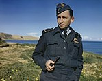 Air Chief Marshal Sir Arthur Tedder, Air Commander in Chief Mediterranean Air Command, Italy, 17 December 1943 TR1487.jpg