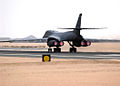 Air Force B-1B Lancer takes off from an air base in Southwest Asia..jpg