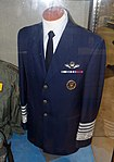 Air Force Chief of Staff uniform, Merrill McPeak exhibit - Oregon Air and Space Museum - Eugene, Oregon - DSC09902.jpg