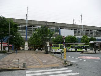 Akabane Station - West side of the station, May 2010