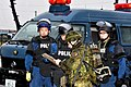 Akita Prefectural Police and JGSDF soldier.jpg